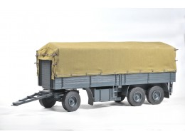 GERMAN TRAILER 3 AXLE