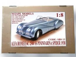 Alfa Romeo 6C 2500 SS Pininfarina Spider 1938