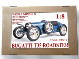 Bugatti T35 – Roadster