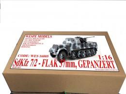 SdKfz 7/2 - Flak 37mm, Gepanzert