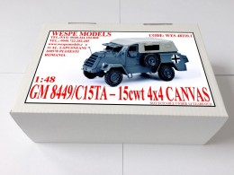 GM 8449/C15TA-15cwt 4x4 Canvas
