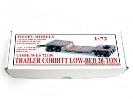 TRAILER CORBITT LOW-BED 20-TON