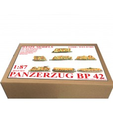 PZ BP42(LOK+6 WAGONS+1 TANK)