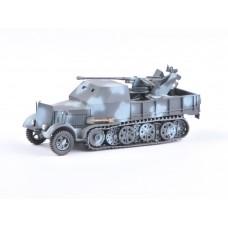 SdKfz 7/2 - FLAK 37mm ,  GEPANZERT