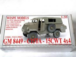 GM 8449/C15TA - 15cwt 4x4 Closed