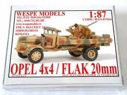 OPEL 4X4/FLAK 20mm