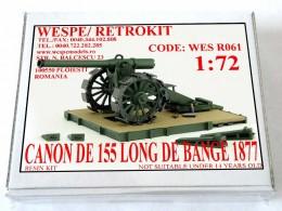 CANON DE 155 LONG DE BANGE 1877