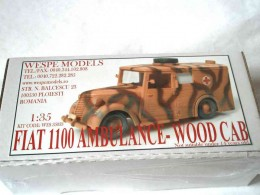 Fiat 1100 Ambulance - Wood Cab