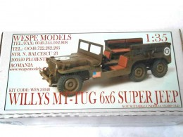 Willys MT-TUG 6x6 Super Jeep