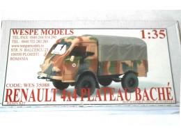 RENAULT 4x4 PLATEAU BACHE