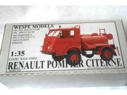 RENAULT POMPIER CISTERNE