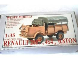 RENAULT 2087, 4x4, OPEN CAB