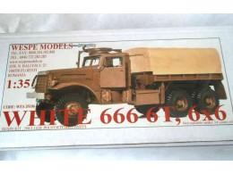 WHITE 666 6T 6x6