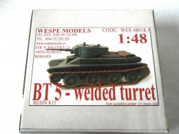 BT 5 - WELDED TURRET