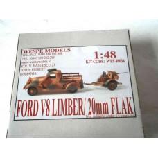 FORD V8 SPECIAL LIMBER+20mm FLAK