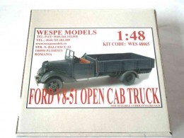 FORD V8-51 OPEN CAB TRUCK