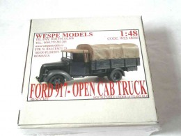 FORD 917-OPEN CAB TRUCK