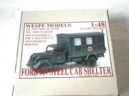 FORD 917-STEEL CAB SHELTER