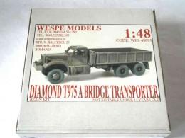 DIAMOND T 975 A BRIDGE TRANSPORTER