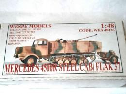 MERCEDES 4500R STEEL CAB/ FLAK 37