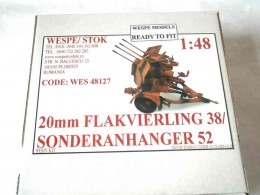 20mm FLAKVIERLING 38/ ANHANGER 52
