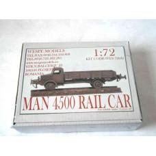MAN 4500 RAIL CAR