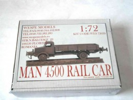 MAN 4500 RAIL CAR