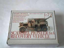 SCAMMEL PIONEER 6x4 RECOVERY