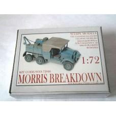 MORRIS BREAKDOWN