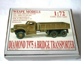 DIAMOND T975 A BRIDGE TRANSPORTER