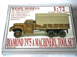 DIAMOND T975 A MACHINERY, TOOL SET