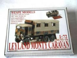 LEYLAND MONTY CARAVAN
