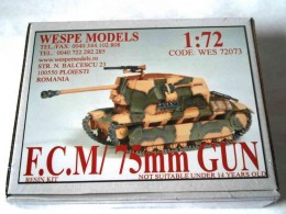 FCM/ 75MM GUN
