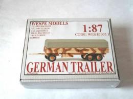 GERMAN TRAILER MIT PLANE