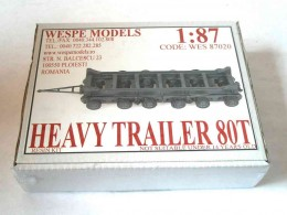 HEAVY TRAILER 80TON