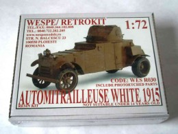 AUTOMITRAILLEUSE WHITE 1915