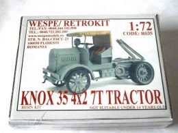 KNOX 35 WWI TRACTOR