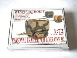 PERSONEL TRAILER FOR LORRAINE 38L
