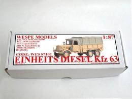 EINHEITS DIESEL Kfz 63